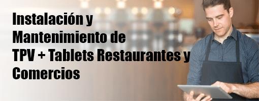 Instalación y Mantenimiento Restaurantes y Comercios